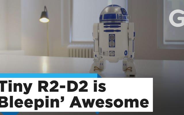 Chào mừng Sphero's Fantastic R2-D2 đến bàn làm việc của bạn chỉ với $ 36