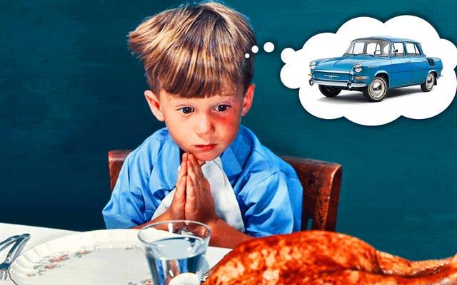 En este día, damos gracias por los autos