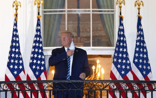 Trump: ho il Coronavirus per dimostrare che potrei batterlo perché è quello che fanno i leader!