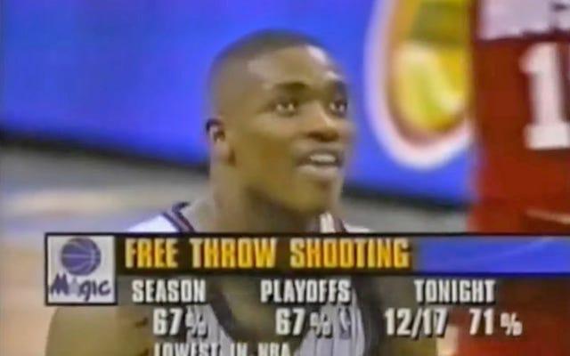 25 năm trôi qua Nick Anderson đã bỏ lỡ 4 quả ném phạt liên tiếp trong trận 1 của trận chung kết NBA 1995, và nó vĩnh viễn thay đổi giải đấu