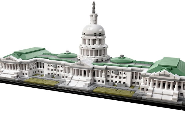 Cuối cùng bạn cũng có thể xây dựng Quốc hội Hoa Kỳ bằng Lego