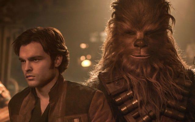 Los escritores de Solo discuten el desafío de crear la icónica primera reunión de Han y Chewie