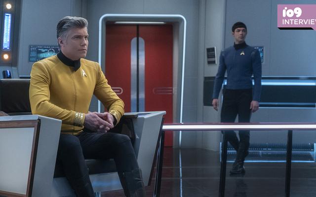Anson Mount i Ethan Peck wspominają swoją służbę w Star Trek