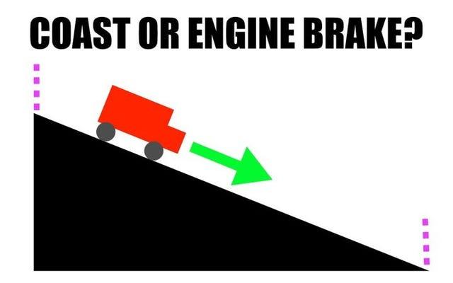 Khi nào bạn có thể tiết kiệm xăng hơn với kỹ thuật phanh động cơ