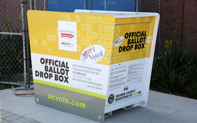 Setting Ballot Boxes on Fire Is Apparently a Thing Now in Boston and California