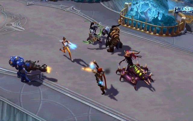 Tracer de Overwatch tiene algunas habilidades poderosas en Heroes of the Storm