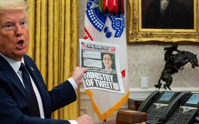 ソーシャルメディアでのトランプの大統領命令は最悪の種類のでたらめです