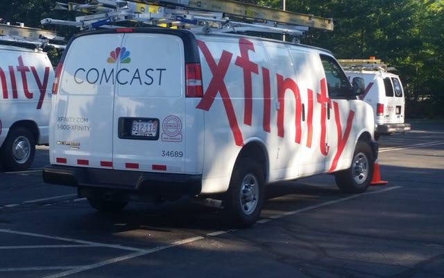 Comcast、ケーブルジャイアントは、顧客に特定のチャネルの支払いを強制する法律をめぐってメイン州を訴える