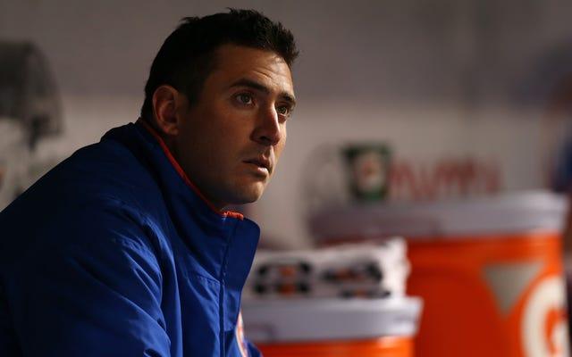 Pitcher Bantuan Matt Harvey Sepertinya Sedikit Rewel