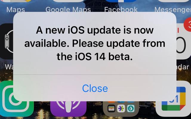 Perché il mio iPhone mi molesta per un aggiornamento mancante?