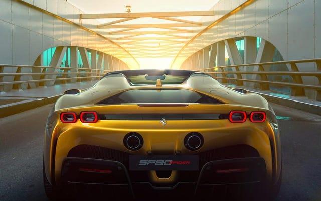 フェラーリは世界的大流行を通じて記録的な注文を打ちました