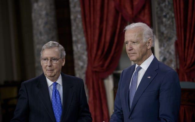 共和党員に会ったにもかかわらず、バイデンはまだ彼らがトランプ後に彼と一緒に働くと思っています