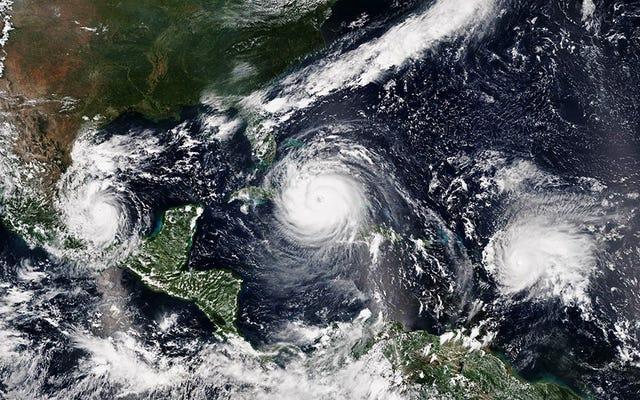 NOAAは、より多くの嵐を要求するために、その「平均的な」ハリケーンシーズンを更新します
