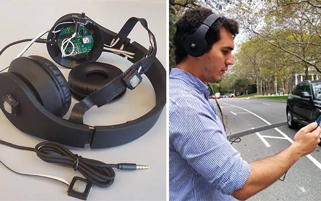 これらのノイズキャンセリングヘッドフォンは、聞こえないすべての危険を警告します