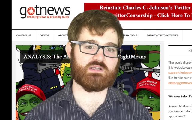 Chuck Johnson z prawego skrzydła `` Troll '' twierdzi, że współtworzył gigantyczną sztuczną inteligencję Clearview do rozpoznawania twarzy