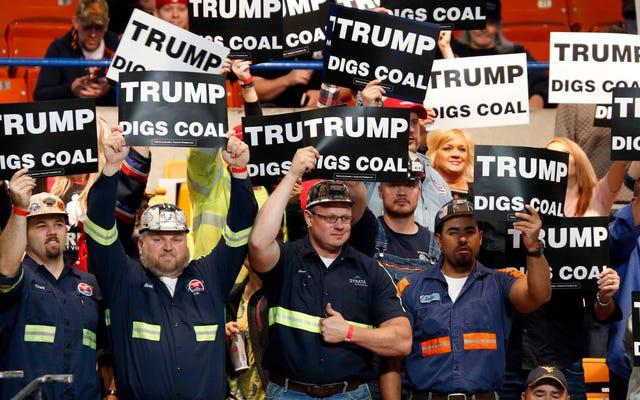 オバマの第2期よりもトランプの下で引退したより多くの米国の石炭火力
