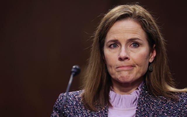 Las opiniones de Amy Coney Barrett sobre la negación climática y contra el aborto son dos caras de la misma moneda