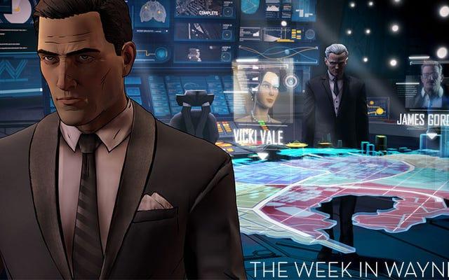 La semana en juegos: Las nuevas aventuras del viejo Batman