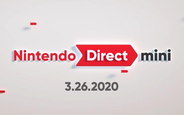 Sürpriz Nintendo Direct, Xenoblade, Smash, Animal Crossing Güncellemeleri İçeriyor