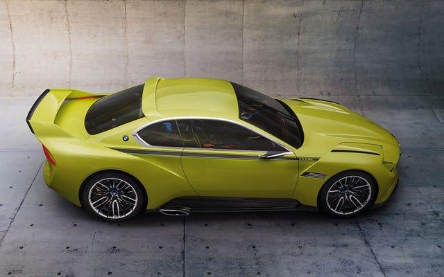 BMWは新しいスーパーカーについてその気の狂った心を補うことができません