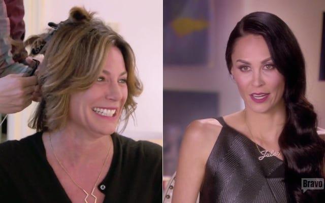 Un conte de deux relations curieuses sur les vraies femmes au foyer de New York
