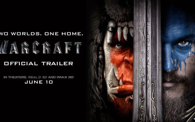 Orc dan Manusia Bentrok di Trailer Warcraft Pertama yang Mencengangkan
