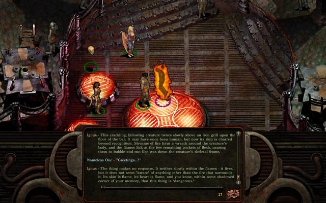 Planescape: Torment: Enhanced Edition hace que una forma clásica de todos los tiempos sea más jugable