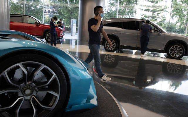 L'azienda di auto elettriche Nio si arresta temporaneamente in Cina per carenza globale di chip