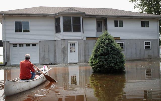 洪水の前、最中、後に何をすべきか