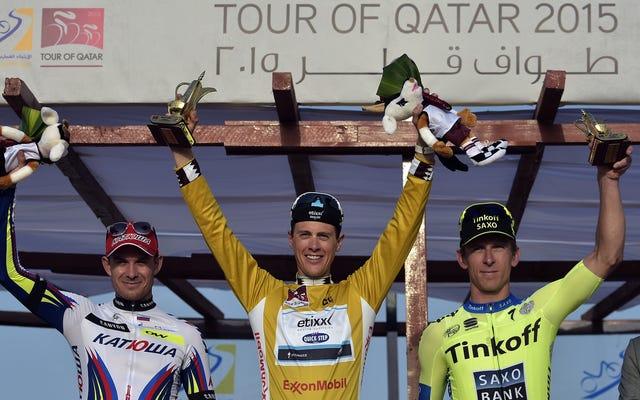 変更に時間がかかりすぎるため、カタールのツアーから招待されなかった世界最高のサイクリングチーム