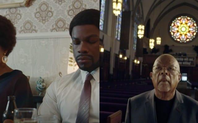 予告編のまとめ:この感謝祭の週末、おばさんは黒人教会で赤、白、青の帽子をかぶっています
