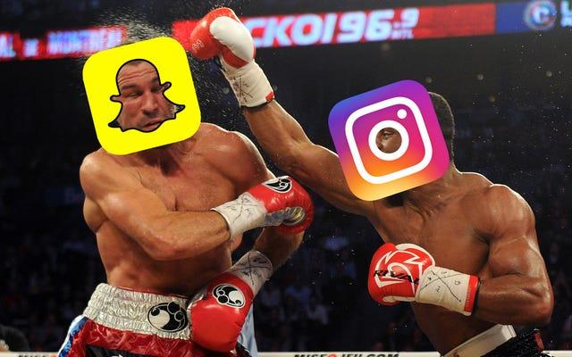 ขออภัย Snapchat เรื่องราวของ Instagram Sorta เตะตูดคุณ