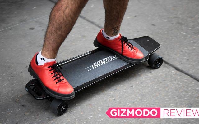 El longboard motorizado es el vape de transporte e IDGAF I Love It