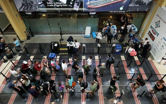 TSA наконец уволили кого-то за то, что он был придурком