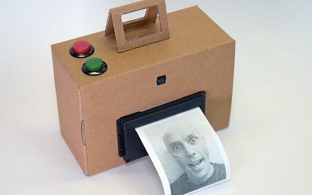 रास्पबेरी पाई और थर्मल प्रिंटर के साथ एक इंस्टेंट कैमरा बनाएं