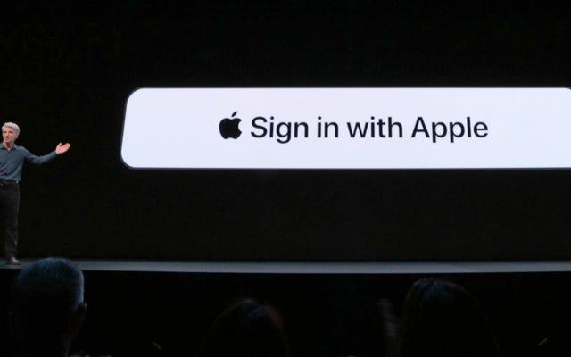 วิธี 'ลงชื่อเข้าใช้ด้วย Apple' ปรับปรุงบนตัวเลือกของ Google, Facebook และ Twitter