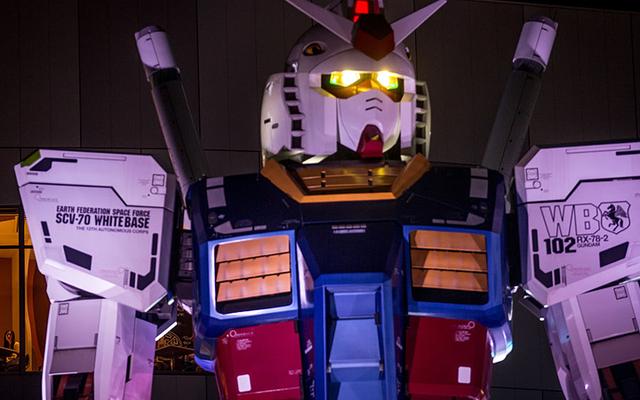 Tokyo'nun Dev Gundam Heykeli Son Bir Haraçla Söküldü