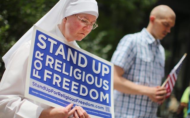 裁判官は全国的に新しい避妊の免除をブロックします、神に感謝します