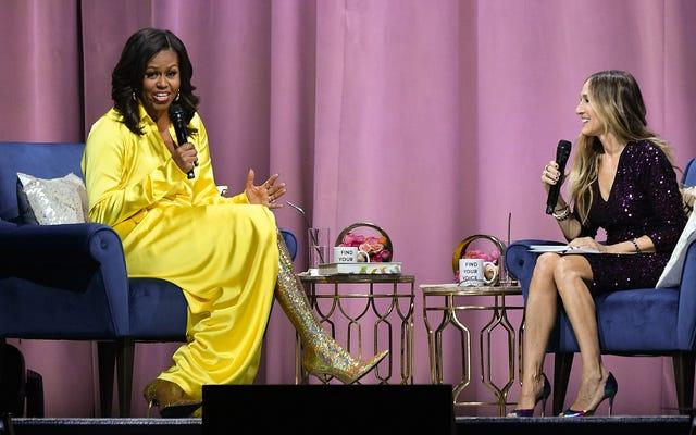 ミシェル・オバマが1,000万部のコピーを販売する寸前になり、「これまでで最も成功した回想録」になる可能性があります