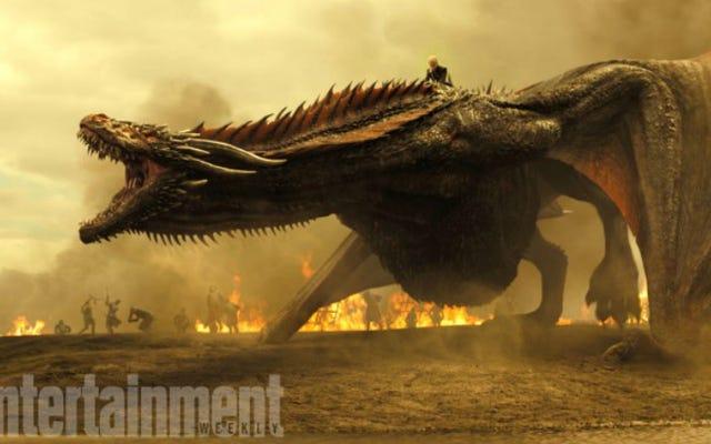 Foto Baru Game of Thrones Musim Tujuh Mengungkapkan Kemana Tujuan Daenerys dan Arya