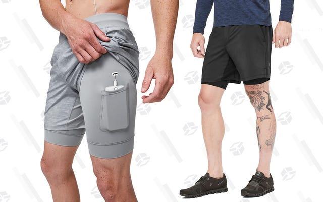 กางเกงวิ่งขาสั้นตัวโปรดของผู้อ่าน: Lululemon THE Short With Nulux Liner
