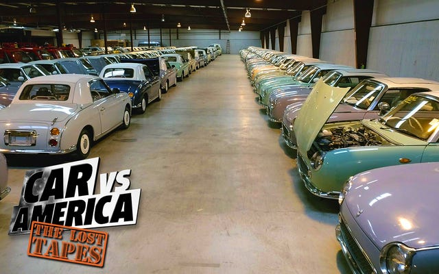アメリカで最も素晴らしい日本の輸入車コレクションの中