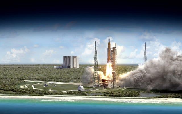 NASAは、火星に私たちを連れて行くロケットであるSLSの最初のミッションを発表しました