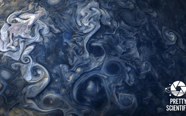 ジュノの息を呑むような木星の画像の作り方
