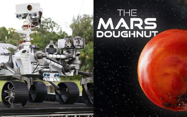 Последний звонок: есть ли жизнь на Марсе? Или просто Криспи Кремес?
