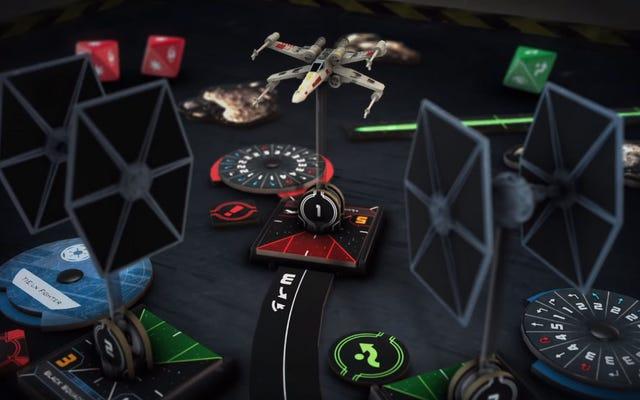 X-Wingミニチュアゲームが再起動します