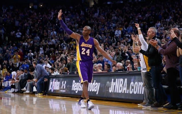NBAがコービーブライアントがバスケットボールの殿堂入りを果たした時期を明らかに