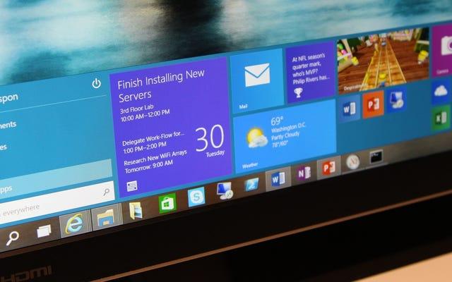Windows 10 ที่บางลงอาจทำให้แท็บเล็ตราคาถูกดูดน้อยลง
