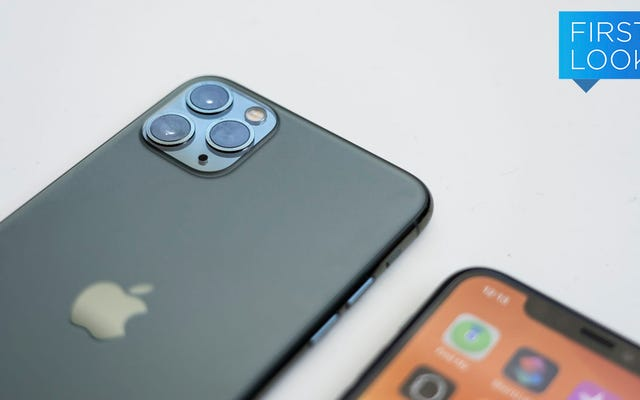 トリプルカメラiPhone11Proの初見