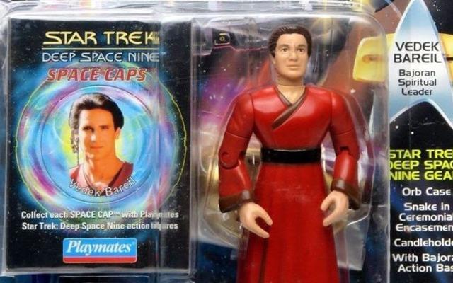 To naprawdę może być najbardziej dziwnie nudną figurką akcji ze Star Treka, jaką kiedykolwiek stworzono